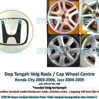 harga DOP Tengah VELG Roda Honda JAZZ 2004-2005 Cap Wheel CITY 2003-2006 Tokopedia.com