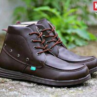 kickers high wing brown FREE KAOS KAKI promo ramadhan lebaran
