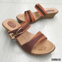 Sandal Wedges By Carvil - Shera 02