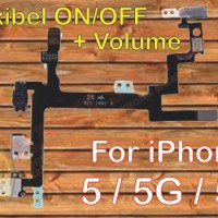 Flexible Power On / Off + Volume IPhone 5/5G / 5S - MALANG