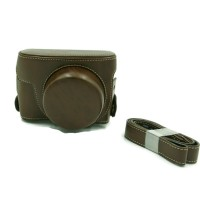 CAMERA CASE For Canon G1X mark 2 (Warna Coklat Tua)