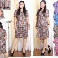 Dress Batik Murah - Batik Dress Jumbo Alicia