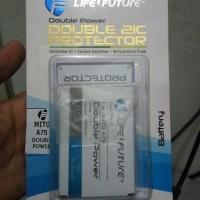 Baterai Mito A75 double Power
