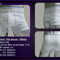 harga CELANA DALAM PRIA CALVIN KLEIN TIDE BOXER - WHITE (M2015W) Tokopedia.com