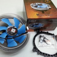 FAN COMBO LGA 775/1156/AMD merk M TECH