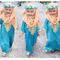 CVO-Hijab Kids Monica / BAJU MUSLIM ANAK