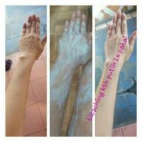 blecing / bleaching badan / bleaching salon