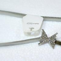 Sabuk / Ikat Pinggang / Gesper Wanita Premium Silver
