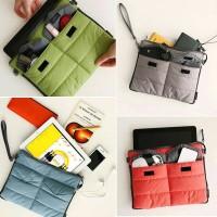 Harga korean gadget organizer pouch ipad tab travel | WIKIPRICE INDONESIA