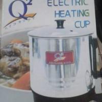 Harga mug teko listrik stainless q2 15 cm pemanas air | Hargalu.com