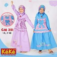 Baju Muslim Keke Gamis GM 351