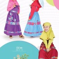 Baju Muslim Keke OC 03 Gamis Anak Branded Katun Cantik Lucu