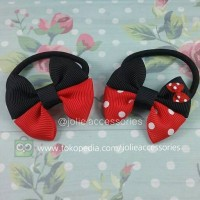 Baby Butterfly Mickey Minnie (Jolie Accessories) hair tie ikat rambut