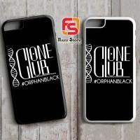 Clone Club Logo Orphan Black A0540 iPhone 4, 4S, 5, 5S, 6, 6S, 6 Plus,