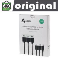 harga Aukey Kabel Data 2.0 to Micro USB 3 Pack CB-D10 Original 100% Tokopedia.com