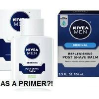 Nivea Men Post Shave Balm (used as primer)