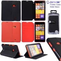 Sale Capdase Sider Baco Folder Case Nokia Lumia 625 Merah