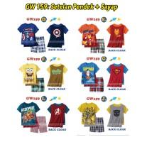 harga Piyama Gw 159: Setelan Pendek + Sayap (2-7 Tahun) Tokopedia.com