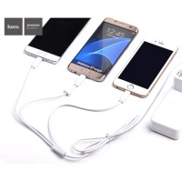 [MG] Hoco X1 3 In 1 Lightning, Micro USB, USB Type C Charging Cable / Kabel