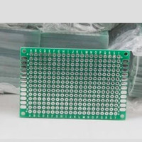 Double-sided PCB board quality fiberglass board 4 * 6cm thickness 1.6