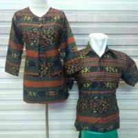 harga sarimbit tunik blouse panjang BAJU pasangan couple batik muslim katun Tokopedia.com