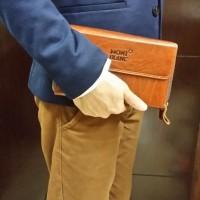 Handbag Tas Tangan Pria | Montblanc | Bally | Campur | 15 Unit