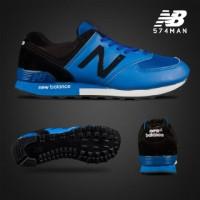 sepatu new balance 574 BONUS kaos kaki (gratis) murah,black blue