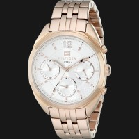 Tommy Hilfiger 1781487 Analog Display Quartz Rose Gold Watch