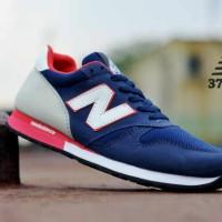 Sepatu NB 574 Men Blue-Grey Kets Pria Sporty Lari Santai Fitnes
