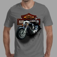 harga Tshirt/baju/kaos Pria 3d Motor Harley Davidson Tokopedia.com
