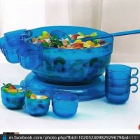 harga Watercolor / Watercolour bowl with ladle and cup by Tupperware Tokopedia.com