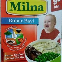 Milna Bubur Bayi Semur Daging Kacang Polong 9+ Netto 120gr