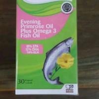 Naturalle Evening Primrose Oil Plus Omega 3 Fish Oil
