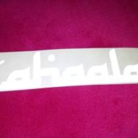 Stiker SAHAALAH buat penggemar bus New Shantika isi 2 lembar