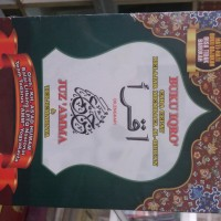 Buku IQRO Bendel Besar Plus Juz Amma HVS Warna ukuran besar