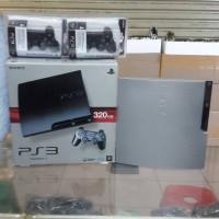 Sony Playstation 3 Slim Hdd 320Gb | 2 Stick Werlles | Game | Garansi