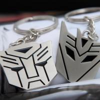 Gantungan Kunci Transformers Autobot Decepticon sepasang Keychain