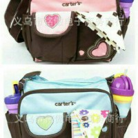 Carter's Diaper Bag Kecil / Tas Bayi Kecil Carter