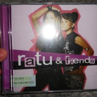 RATU & FRIENDS CD ALBUM ORIGINAL AQUARIUS MUSIKINDO SEGEL