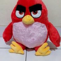 Boneka burung game Angry Birds 'Red' yang mirip film bahan halus bagus