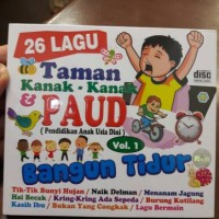 CD ANAK ANAK 26 LAGU TK DAN PAUD VOL.1