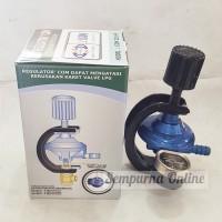 Jual Regulator Kompor Gas Meter + Pengaman Gas Anti Bocor DESTEC Murah
