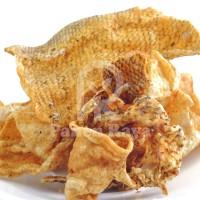 Krupuk Kulit Ikan kakap Goreng PR 100gr Siap Makan