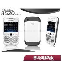 BB 8520 CURVE WHITE GSM - Garansi Distributor 2 Tahun [MURAH]