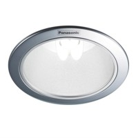 "Downlight Plafon E27 Panasonic NLP72432 5"" Reflector Frosted"