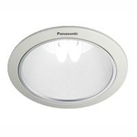 "Downlight Plafon E27 Panasonic NLP72412 5"" White Reflector Frosted"