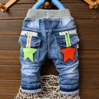 Celana Jeans 08-79 Celana Panjang Jeans Anak Laki-laki Import Murah