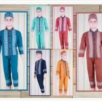 Baju Koko Anak / Baju Muslim Anak Laki-Laki / Pakaian Muslim