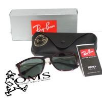 Sungglasess Rayban Kriss Red Frame Black Lens Anti UV Kacamata Rayban