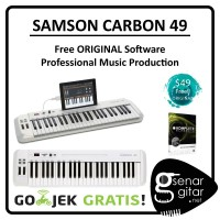 Samson Carbon 49 - USB Midi Controller (Free ORIGINAL Software)